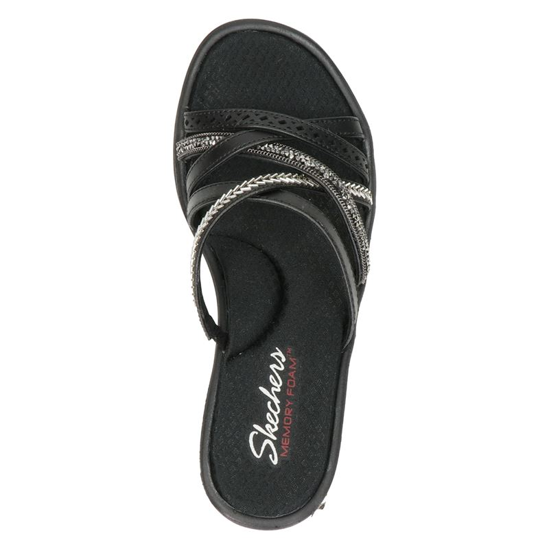 Skechers Rumblers Wave - Sleehak - Zwart