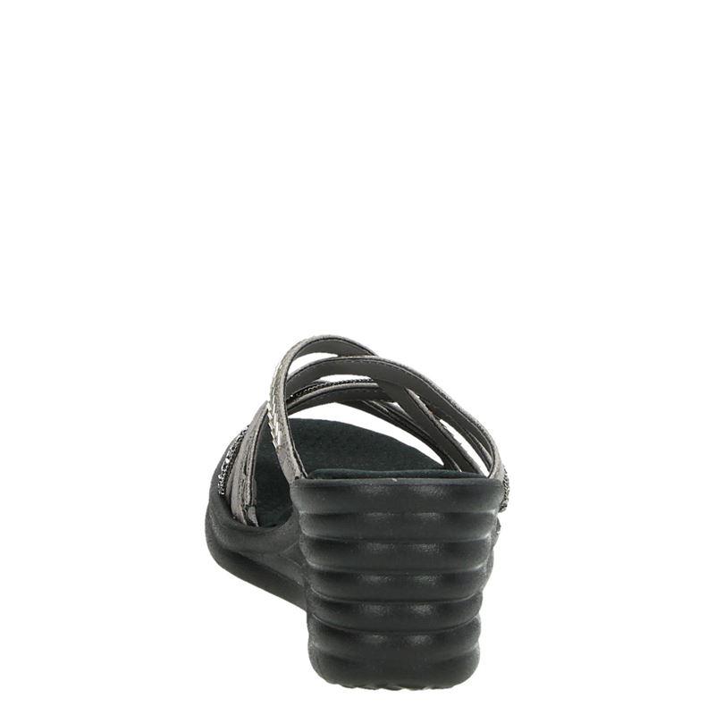 Skechers Rumblers Wave - Sleehak - Grijs