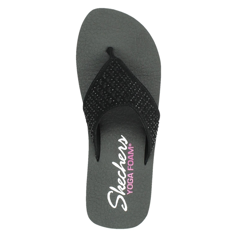 Skechers Yoga Foam Flip Flops Womens Tag Yoga Flip Flops