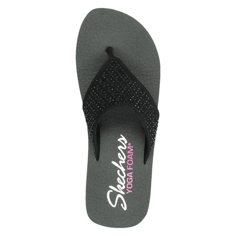 Skechers Cali Vinyasa - Slippers - Zwart