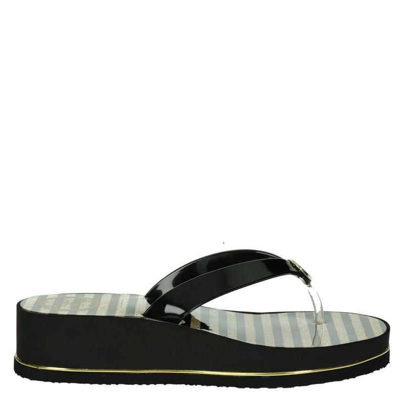Guess - Slippers - Zwart