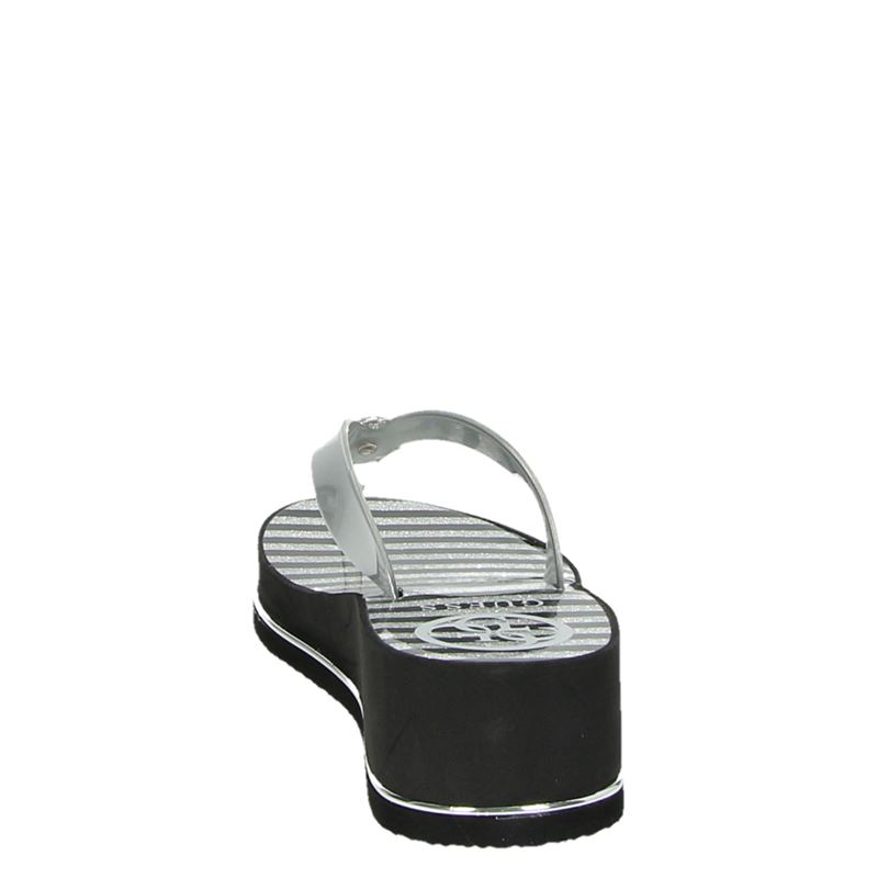 Guess - Slippers - Zilver
