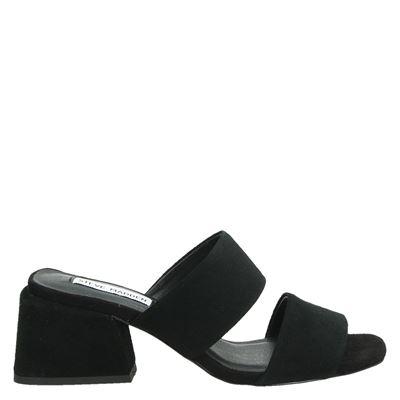 Steve Madden dames slippers zwart