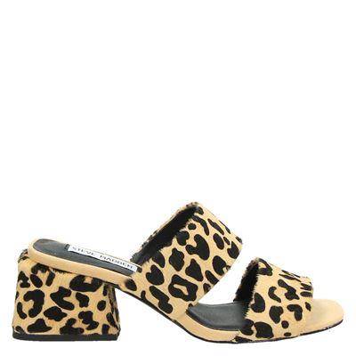 Steve Madden dames slippers bruin