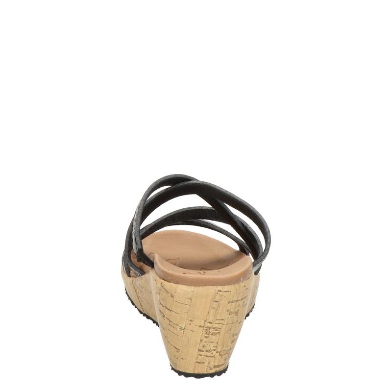 Skechers Luxe Foam - Slippers - Zwart