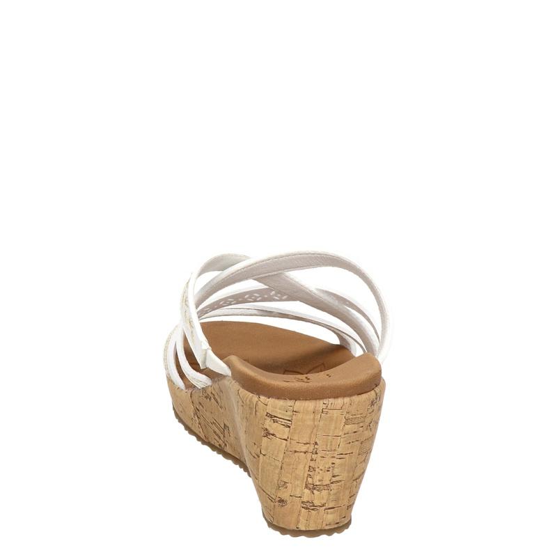 Skechers Luxe Foam - Sleehak - Wit