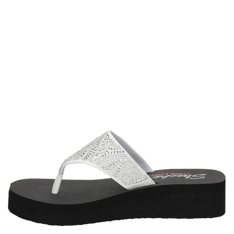 Skechers Vinyasa - Slippers - Wit