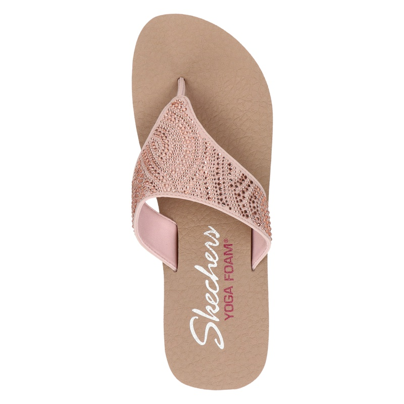 Skechers Vinyasa - Slippers - Rose goud