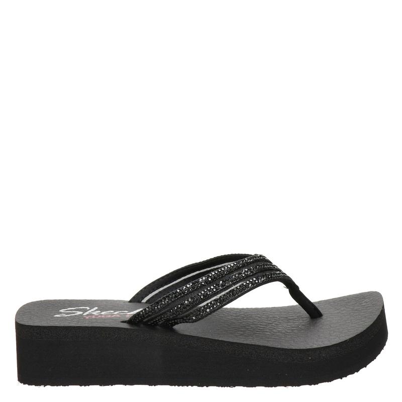 Skechers Vinyasa - Slippers - Zwart