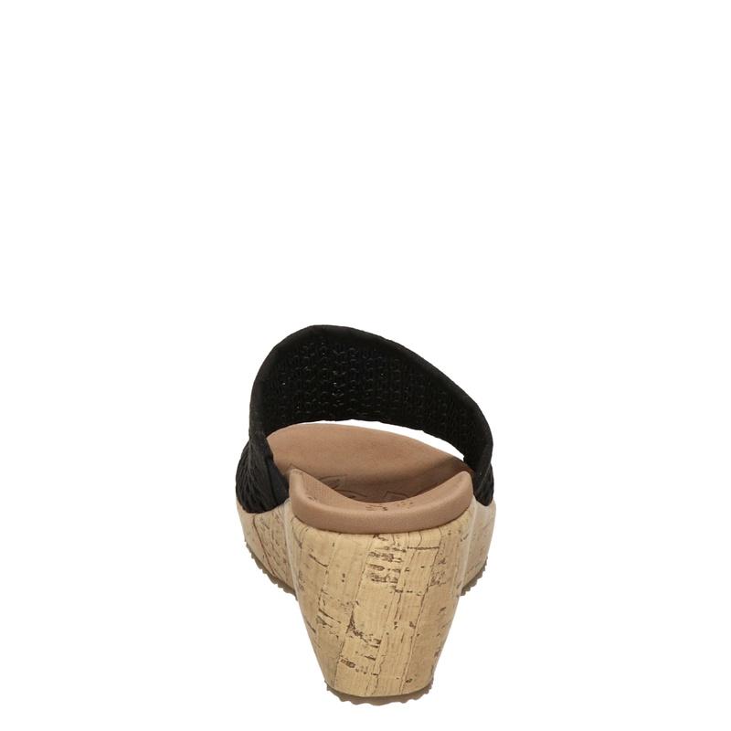 Skechers Beverlee - Sleehak - Zwart