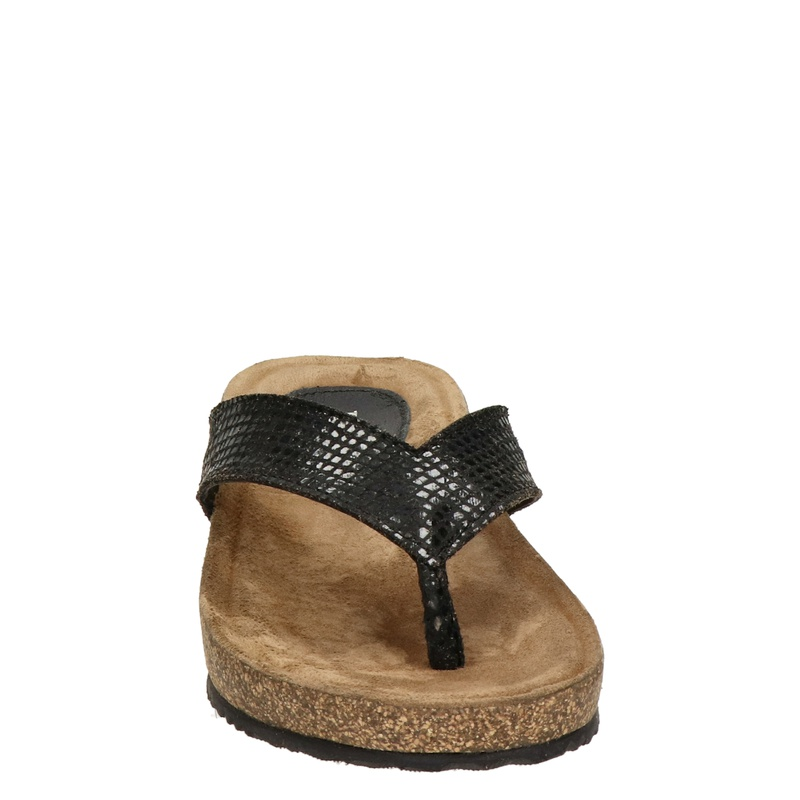 Lazamani - Slippers - Zwart