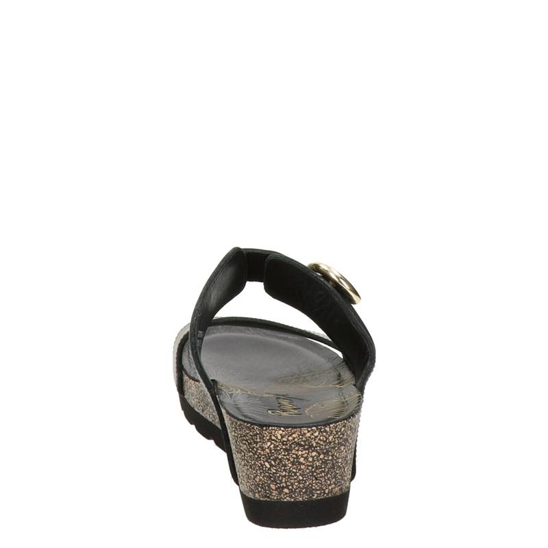 Panama Jack Catrina - Sleehak - Zwart