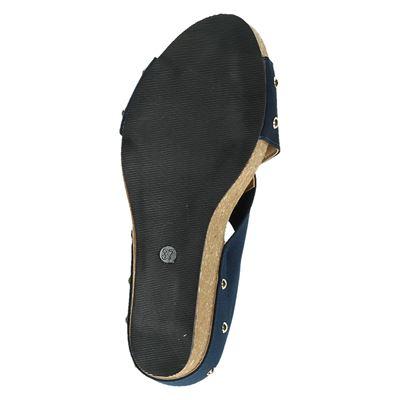 Nelson dames slippers Blauw
