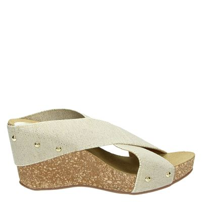 Nelson dames slippers Goud