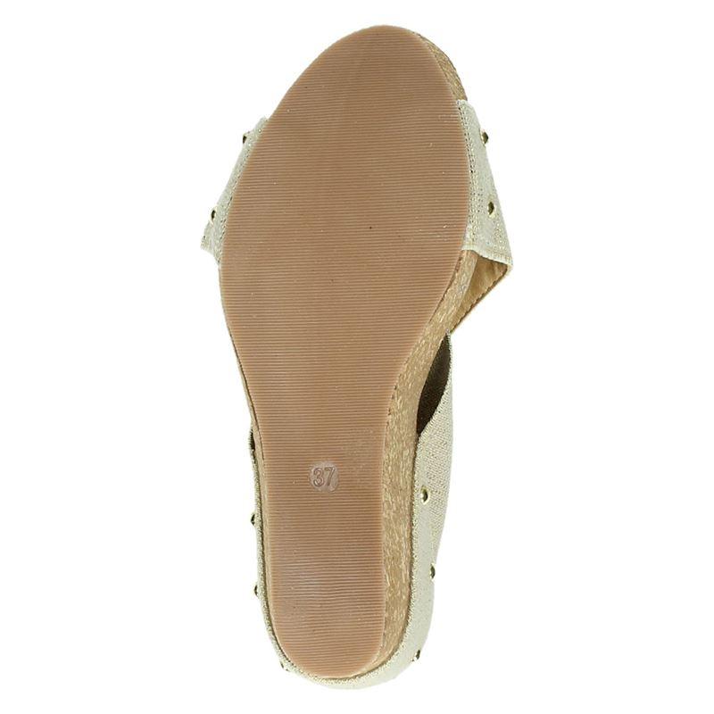 Nelson - Slippers - Goud