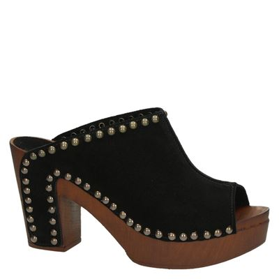 Replay dames sandalen Zwart