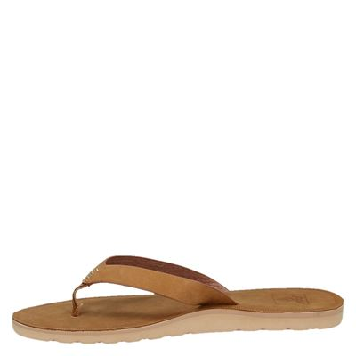 Reef dames slippers Cognac