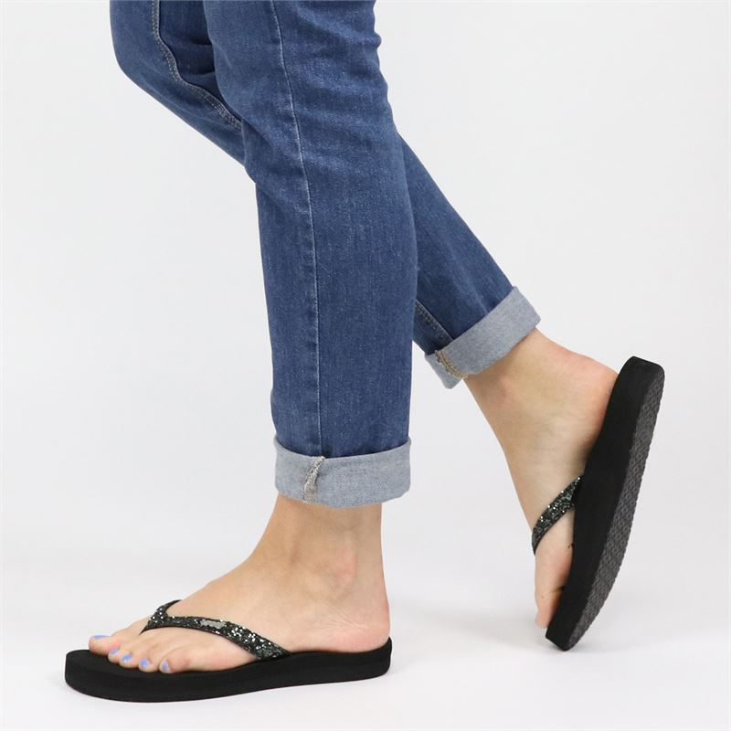 Reef Star Cushion - Slippers - Grijs