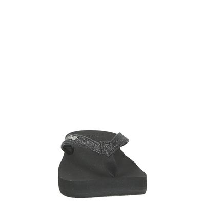 Reef Star Cushion Sassydames slippers Zwart