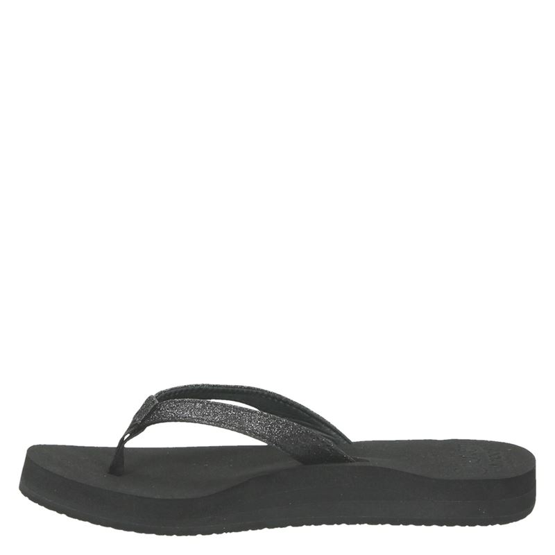 Reef Star Cushion Sassy - Slippers - Zwart