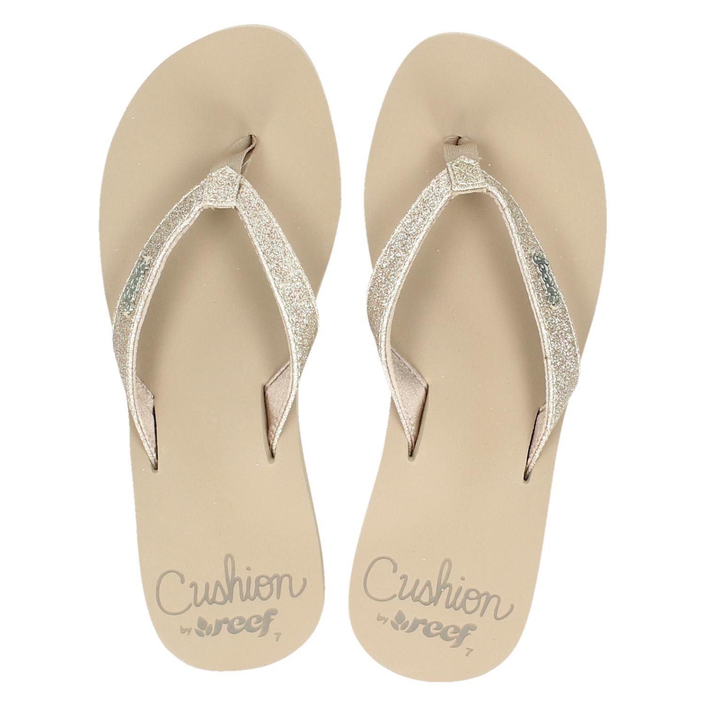 Nike : Rieker dames sandalen beige Reef dames slippers beige