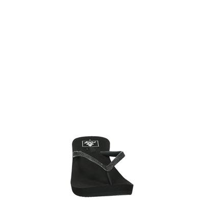 Reef Krystal Stardames slippers Zwart