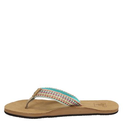 Reef Gypsylovedames slippers Blauw