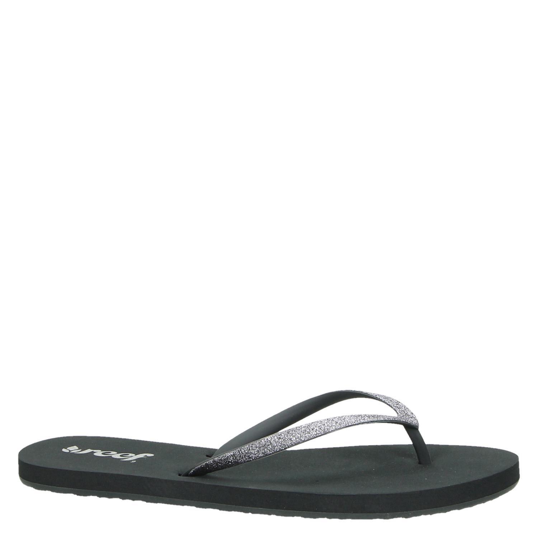 1f06e7360bf9 Reef Stargazer dames slippers grijs