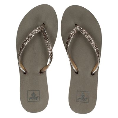 Reef dames slippers taupe