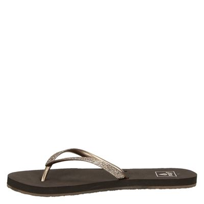 Reef Stargazerdames slippers Brons