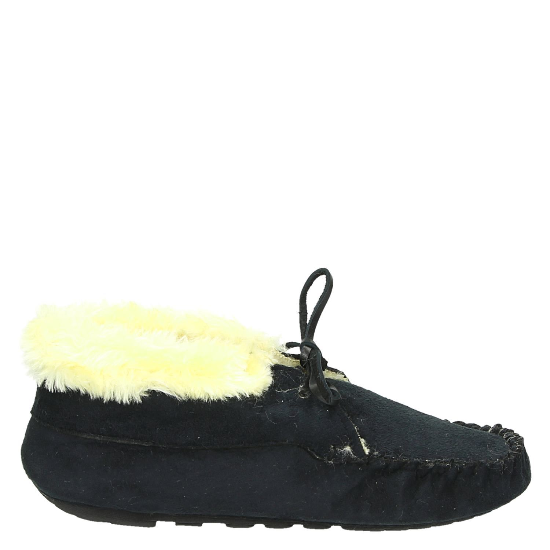 Verwonderlijk Ruby Brown dames pantoffels zwart NI-38