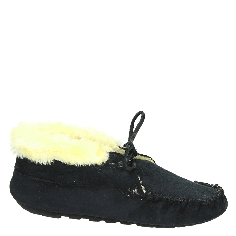 Hedendaags Ruby Brown dames pantoffels zwart QP-43