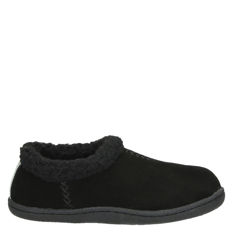 Nelson pantoffels zwart