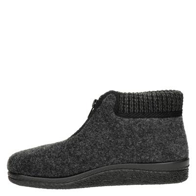 Javar dames pantoffels Zwart