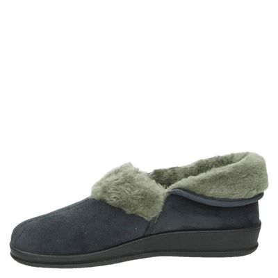 Slippercomfort dames pantoffels Grijs