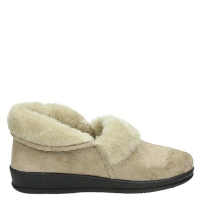 Slippercomfort dames pantoffels beige