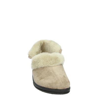 Slippercomfort dames pantoffels Beige