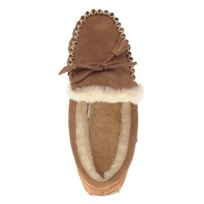 Warmbat Australia dames pantoffels Cognac