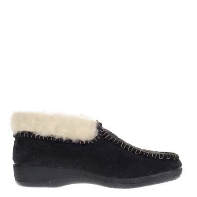 D'Felino dames pantoffels zwart