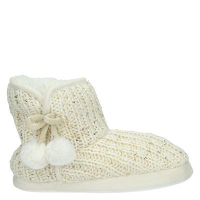 Nelson dames pantoffels beige