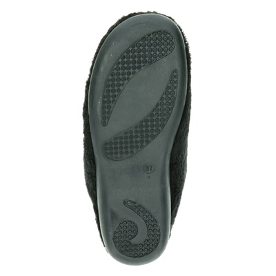 Zoma dames pantoffels Zwart