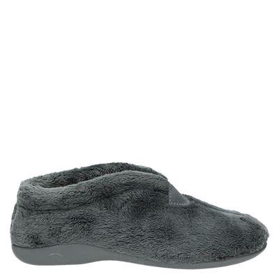 Zoma dames pantoffels grijs