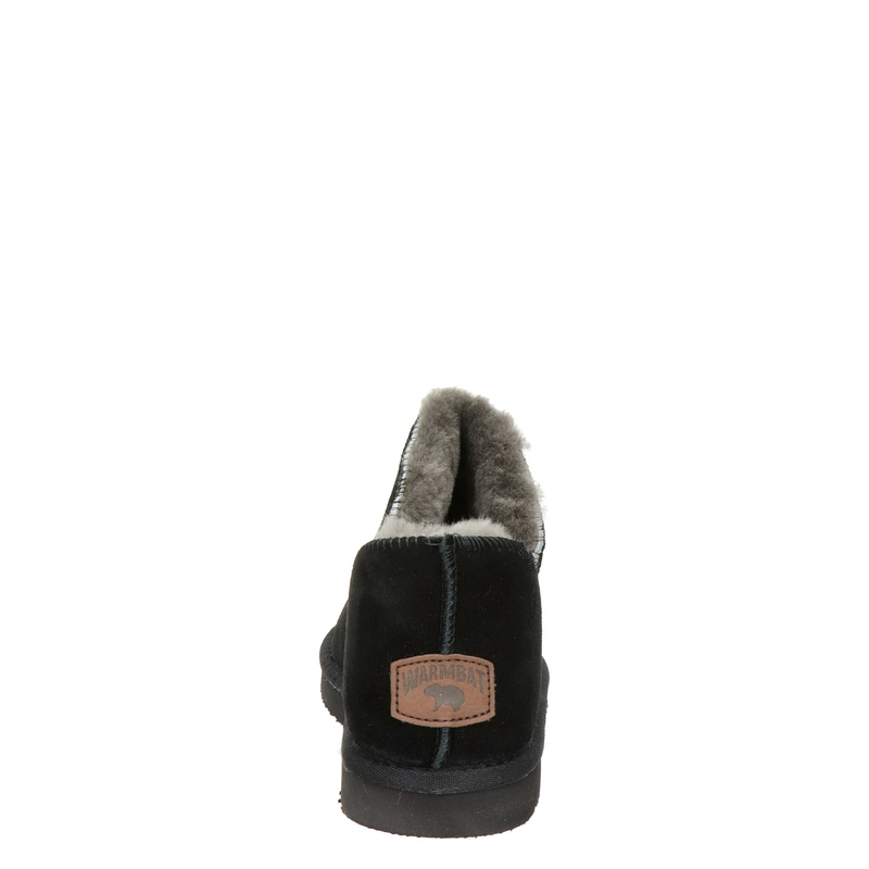 Warmbat Australia Willow - Pantoffels - Zwart