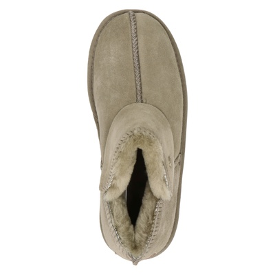 Warmbat Australia dames pantoffels Groen