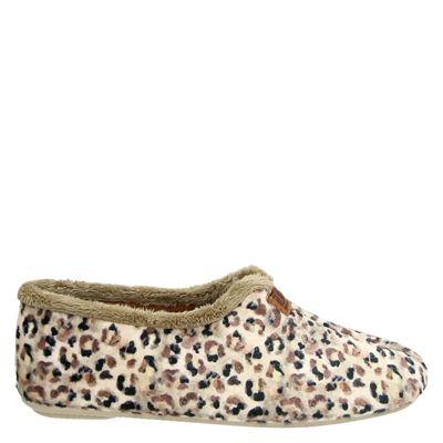 Nortenas dames pantoffels beige