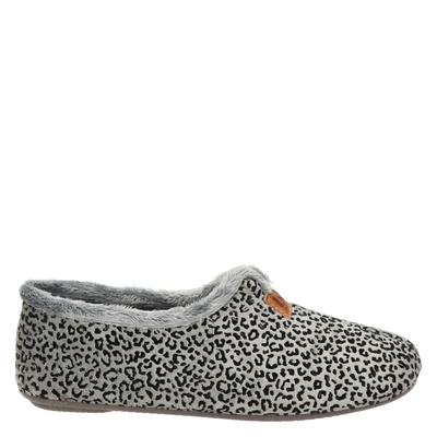 Nelson Home dames pantoffels grijs