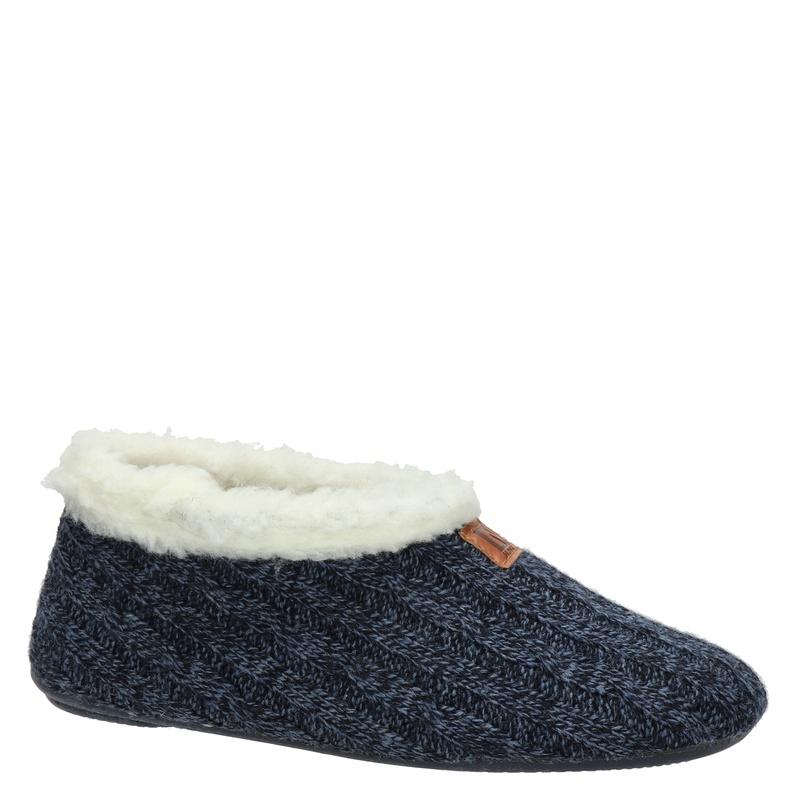 Nelson Home - Pantoffels - Blauw