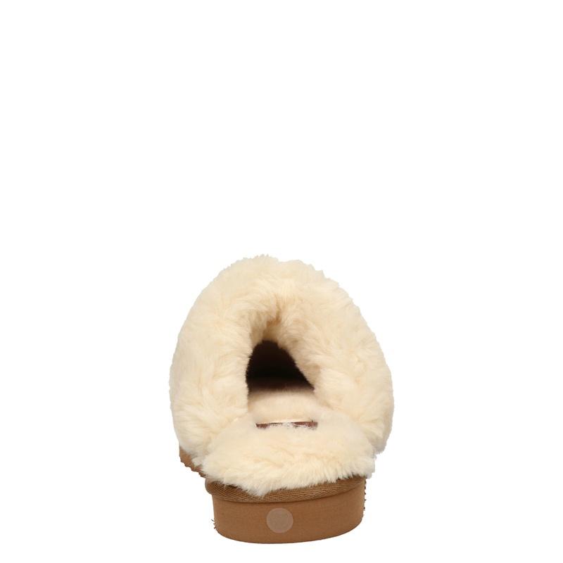 Alpacas - Pantoffels - Bruin