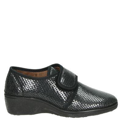 Nelson Home dames pantoffels zwart