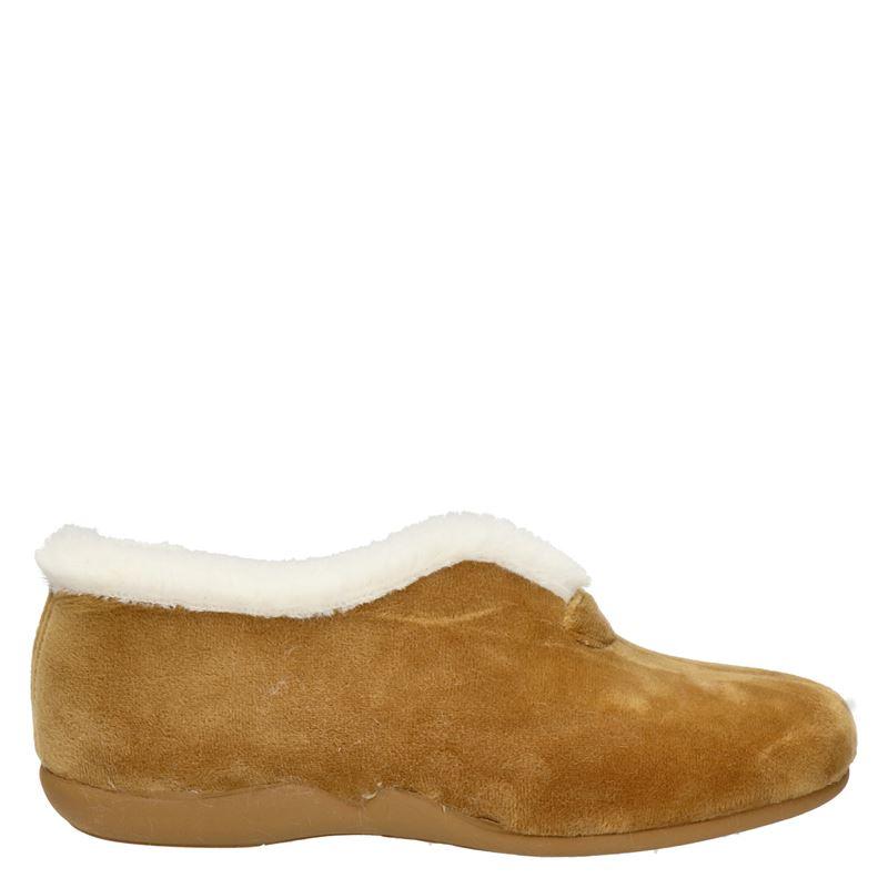 Comfort plus pantoffels camel online kopen